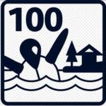 100 Newton Label