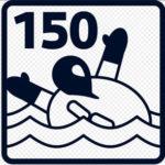150 Newton Label